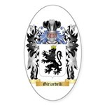 Giriardelli Sticker (Oval 10 pk)