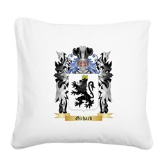 Girhard Square Canvas Pillow