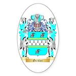 Girdler Sticker (Oval 50 pk)