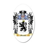 Girault 20x12 Oval Wall Decal