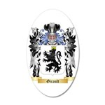 Girault 35x21 Oval Wall Decal