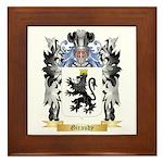 Giraudy Framed Tile