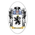 Giraudoux Sticker (Oval 50 pk)