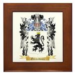 Giraudoux Framed Tile