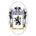 Giraudeau Sticker (Oval 10 pk)