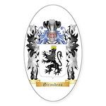 Giraudeau Sticker (Oval 50 pk)
