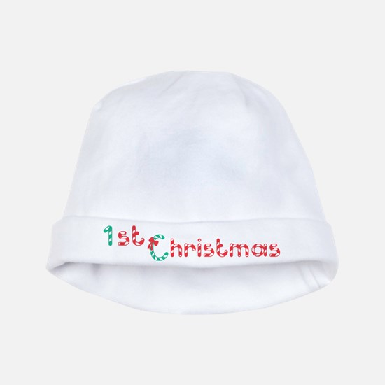 Baby's First Christmas baby hat