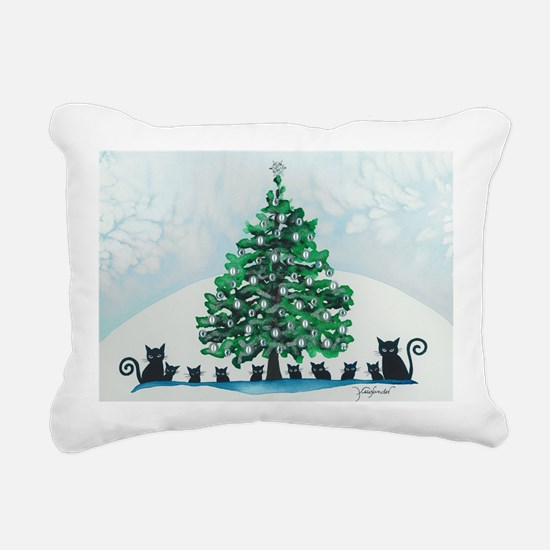 Cute Cute christmas Rectangular Canvas Pillow