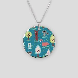 Woodland Animals Necklace
