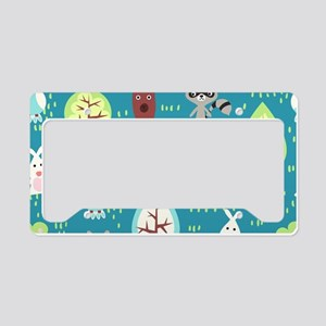Woodland Animals License Plate Holder