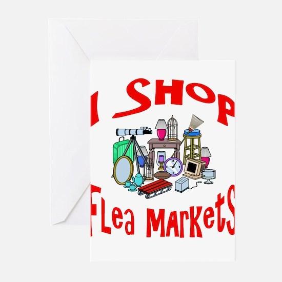 Flea Markets Greeting Cards (Pk of 10)