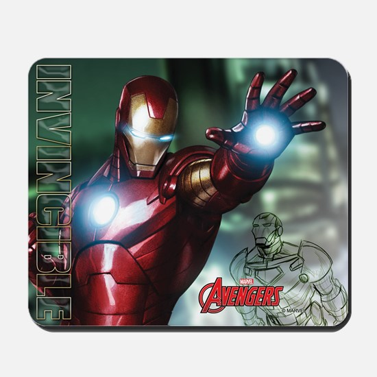 Avengers Invincible Iron Man Mousepad