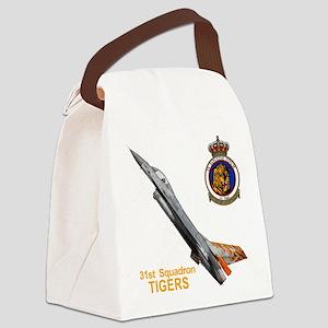 31_SQN_F16_TIGERMEET Canvas Lunch Bag