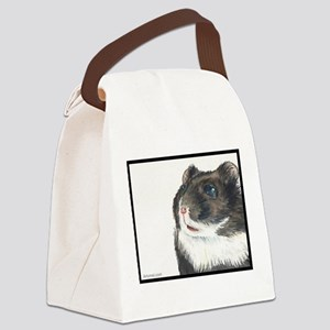 Hammie the eager entertainer hamster Canvas Lunch