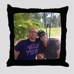 My Two Dads Throw Pillow