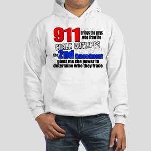 911 Chalk Outlines Hoodie