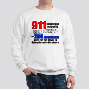 911 Chalk Outlines Sweatshirt