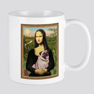 Mona Lisa (new) & Pug Mug