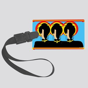 Three Graces Large Luggage Tag