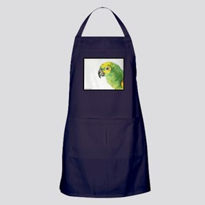 Hector the kooky kindred parrot Apron (dark)