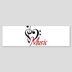 2-music Bumper Sticker