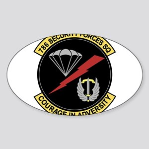 786th Security Forces Squad Sticker