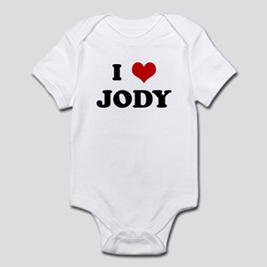 I Love JODY Infant Bodysuit