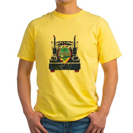 Guamanian Trucker Shirt Guam Flag T Shirts T-Shirt