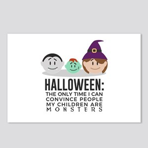 My Children Are Monsters Postcards (Package of 8)
