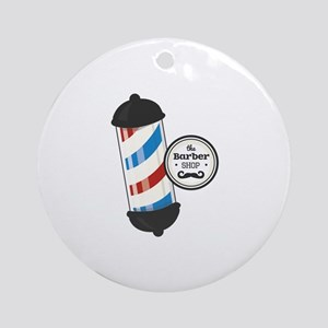 The Barber Shop Ornament (Round)