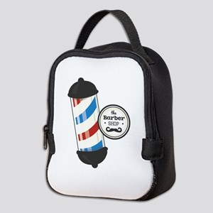 The Barber Shop Neoprene Lunch Bag
