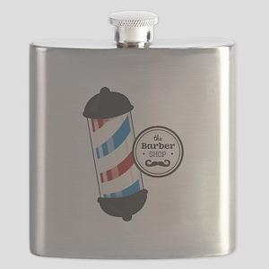 The Barber Shop Flask