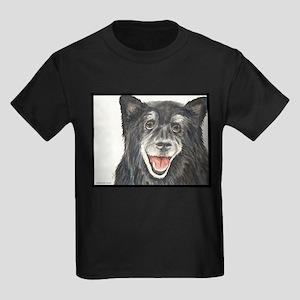Sasha the Quiet Quarterback Keeshond Mix T-Shirt