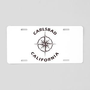 California - Carlsbad Aluminum License Plate