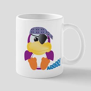 Purple Ducky Duck Pirate Mug