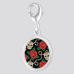 Skulls and Roses Charms