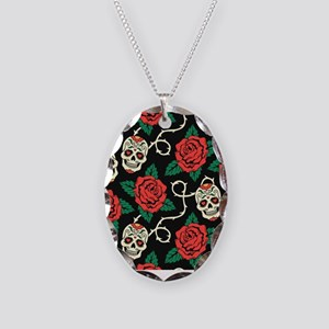 Skulls and Roses Necklace