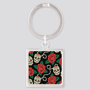 Skulls and Roses Keychains