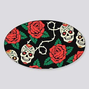 Skulls and Roses Sticker