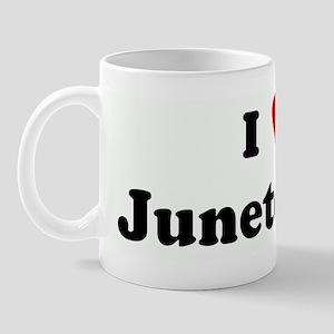 I Love Juneteenth Mug