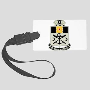 10th Engineer Battalion Large Luggage Tag