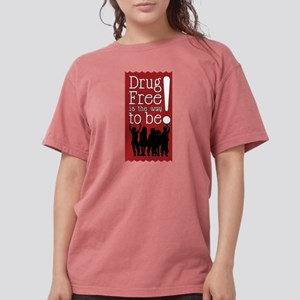 Red Ribbon Drug Free T-Shirt