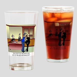 Bathroom Cartoon 8936 Drinking Glass