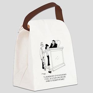 Divorce Cartoon 6485 Canvas Lunch Bag