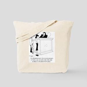 Divorce Cartoon 6485 Tote Bag