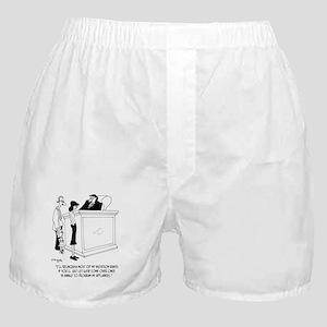 Divorce Cartoon 6485 Boxer Shorts