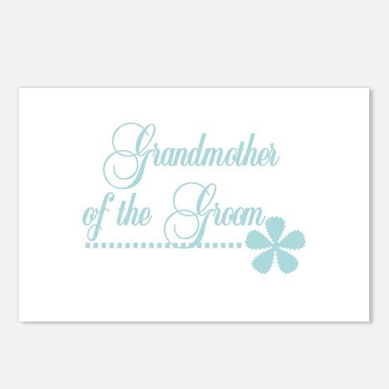 Grandmother of Groom Postcards (Package of 8)