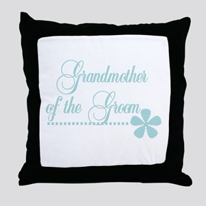 Grandmother of Groom Throw Pillow