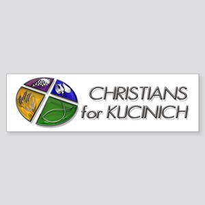 Christians for Kucinich Bumper Sticker