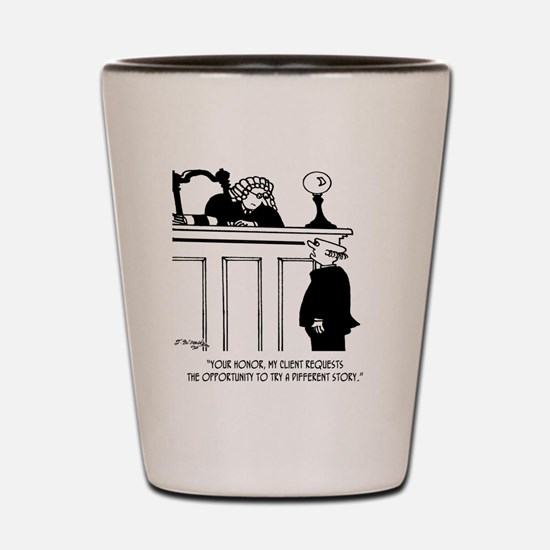 Attorney Cartoon 5496 Shot Glass